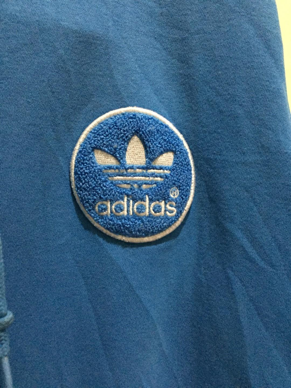 Hoodie Adidas Firebird Badge Embordery - Blue