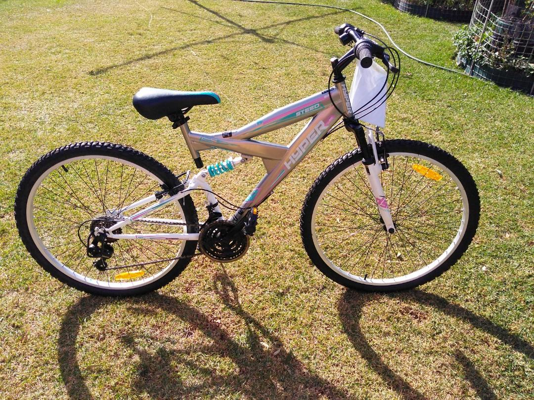 Hyper Dual Suspension Womens Bicycle 66cm (PICK UP ONLY)