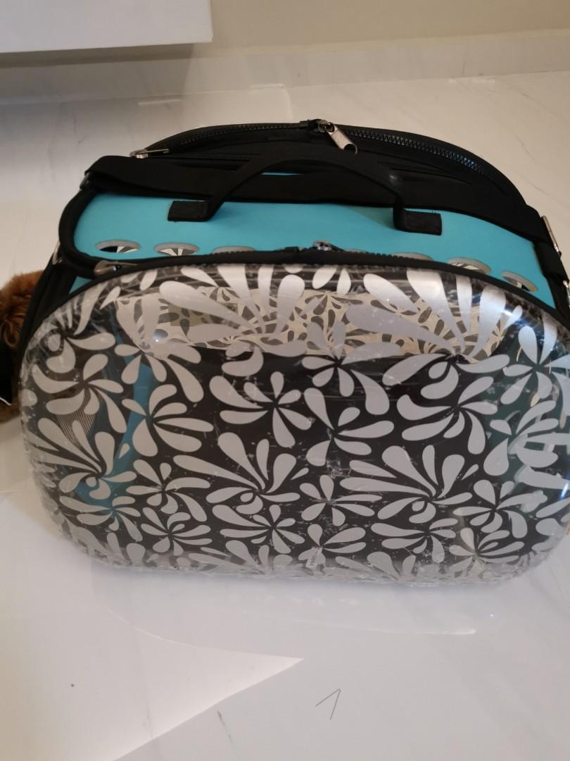 Ibiyaya Transparent Hardcase Carrier Honeysuckle