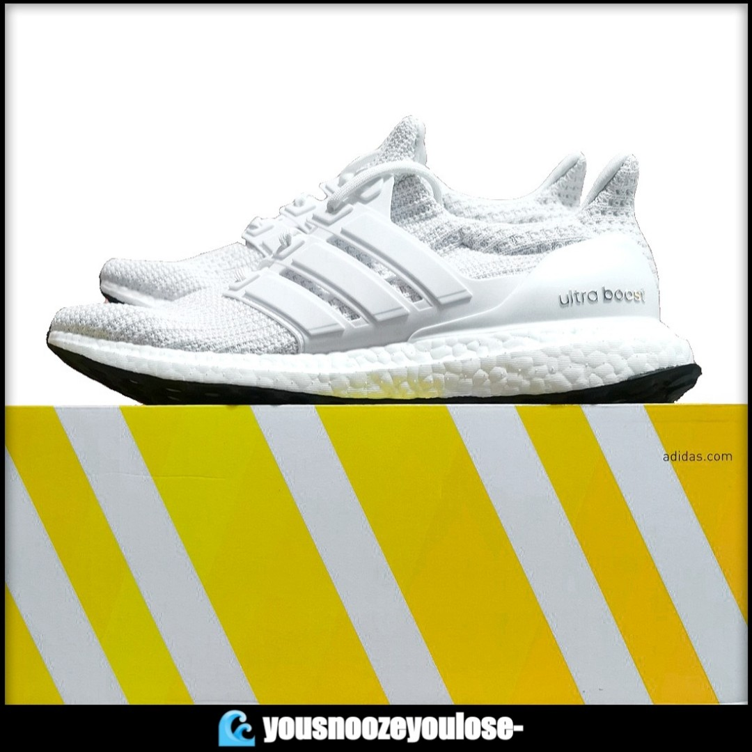 Adidas Ultra Boost 4.0 'Triple White' Where To Buy