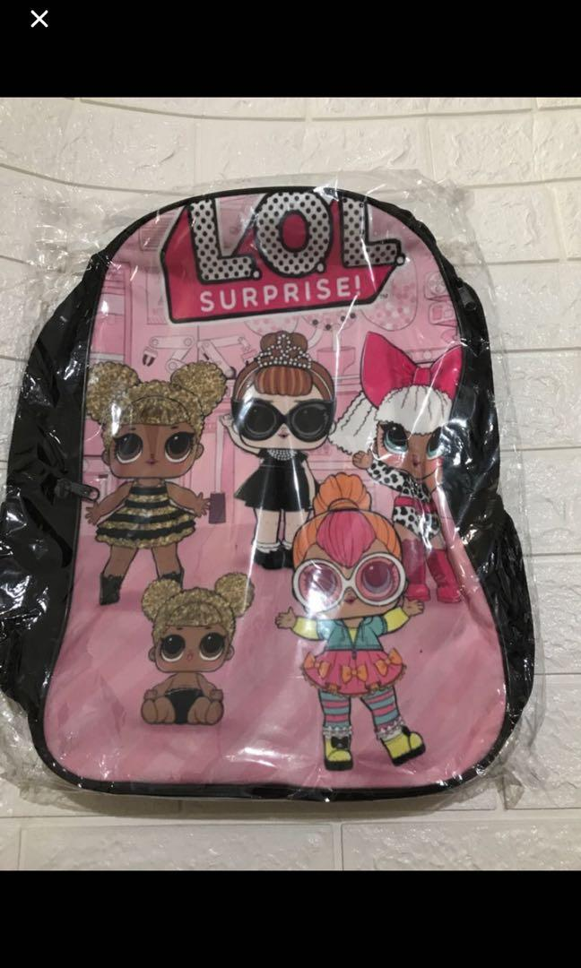 Instock lOL surprise primary school bag ht42 brand new gd quality
