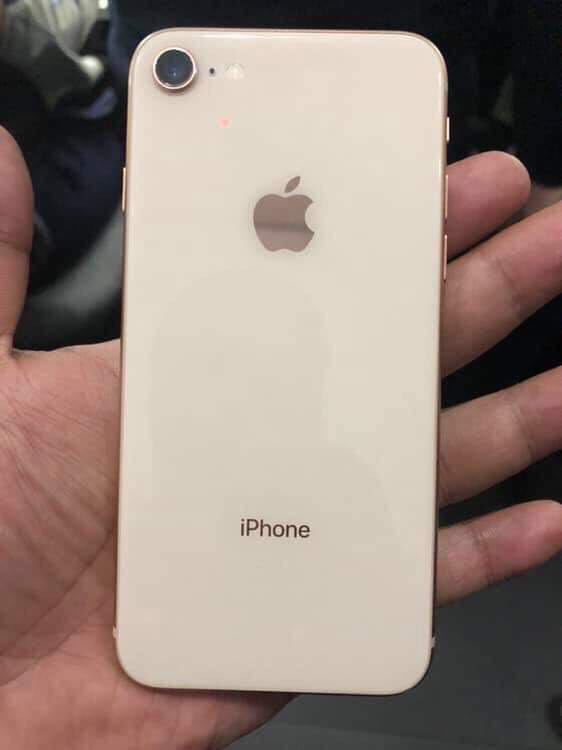 iPhone 8 64gb Globe locked factory reset with dents sa gilid on