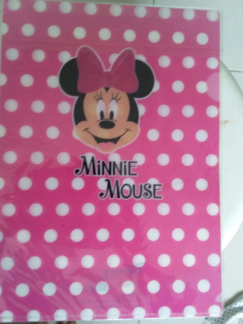 Kids girl File minnie mouse
