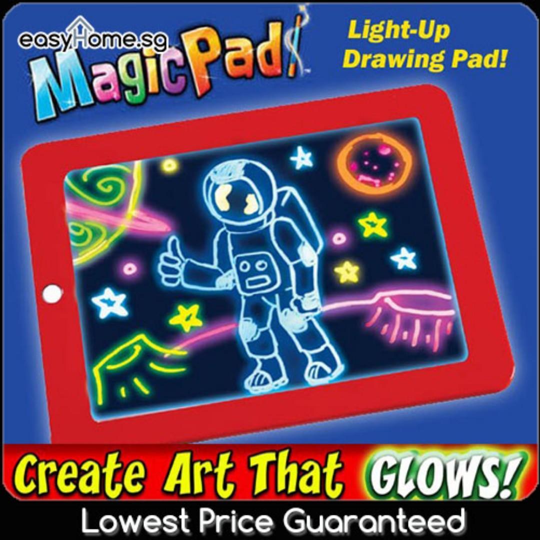 Kids Magic Pad / Children Drawing Board Painting Tools ...