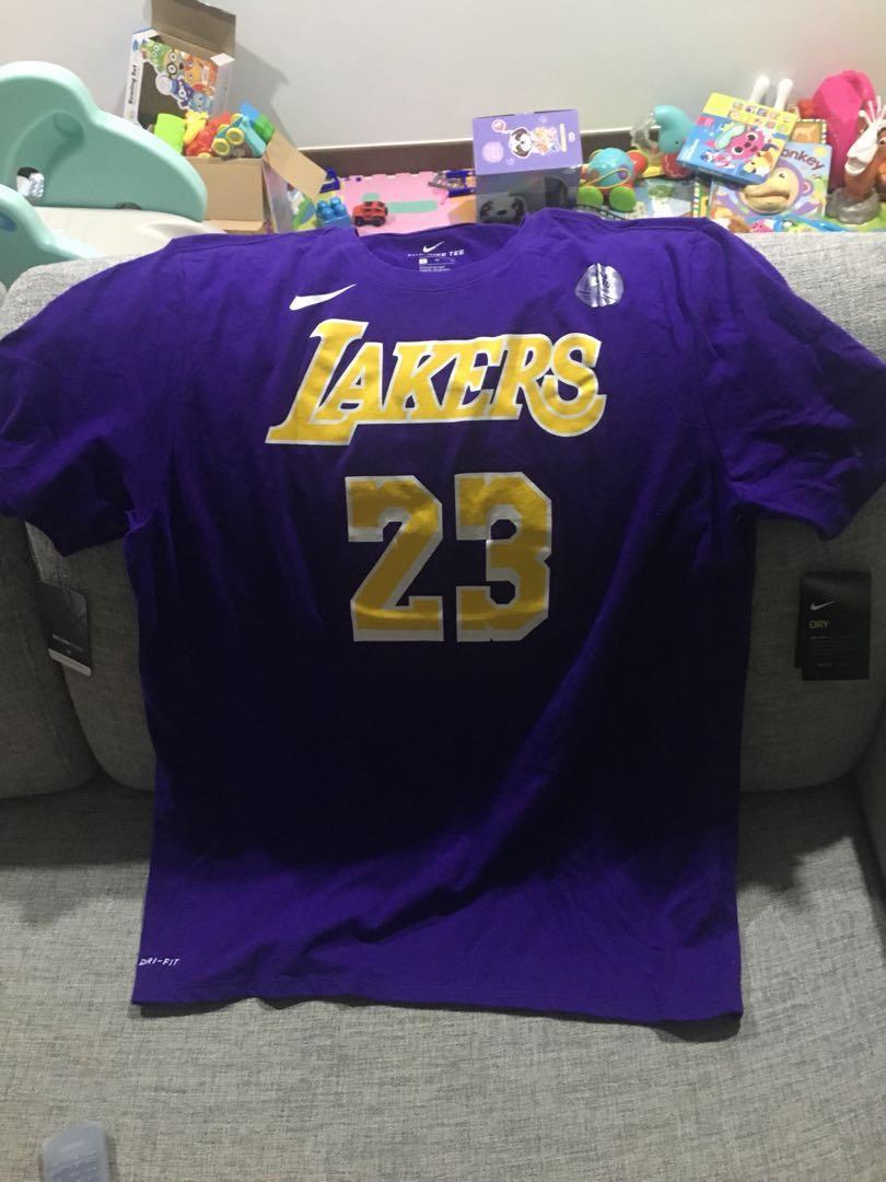 cheap for discount adbf5 adcd7 Lebron James Lakers NBA Tee