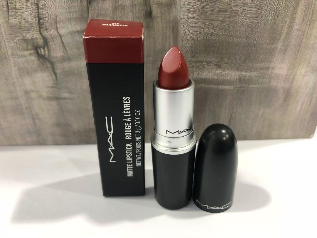 MAC Lipstick Marrakesh and Fresh Moroccan