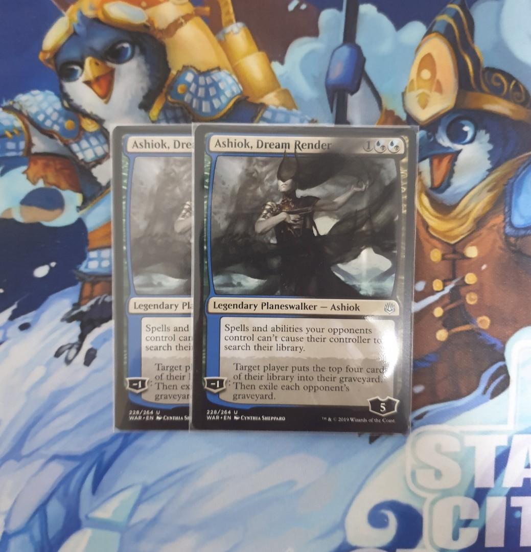 Magic The Gathering - Ashiok, Dream Render Card