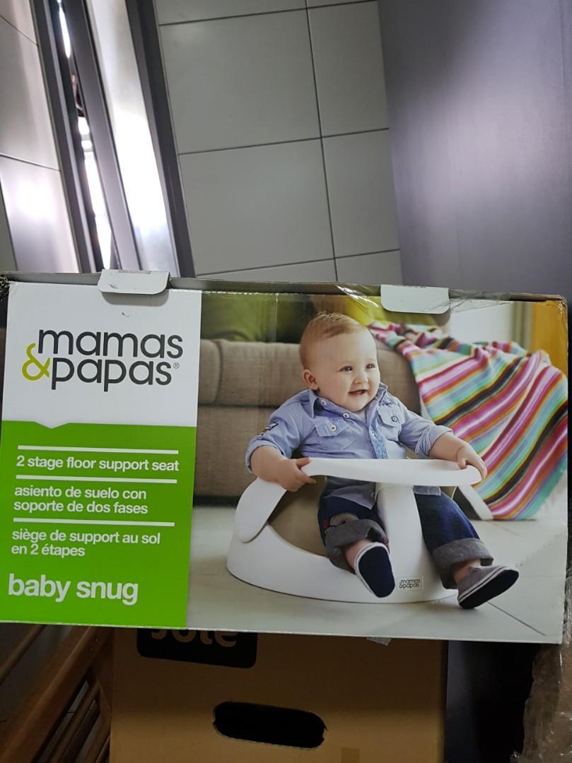 Mamas & Papas Baby Snug with FREE Mamas and Papas rattling toy 🎁