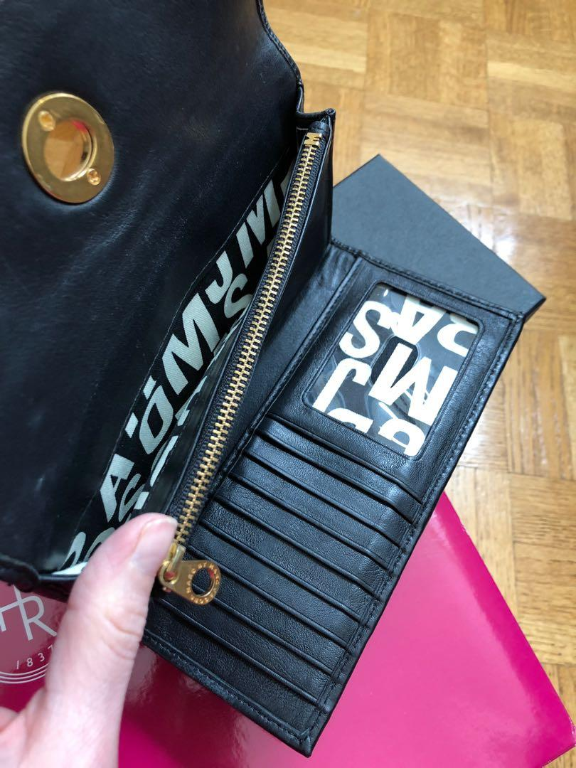 """Marc by Marc Jacobs """"Totally Turnlock"""" Leather Wallet"""