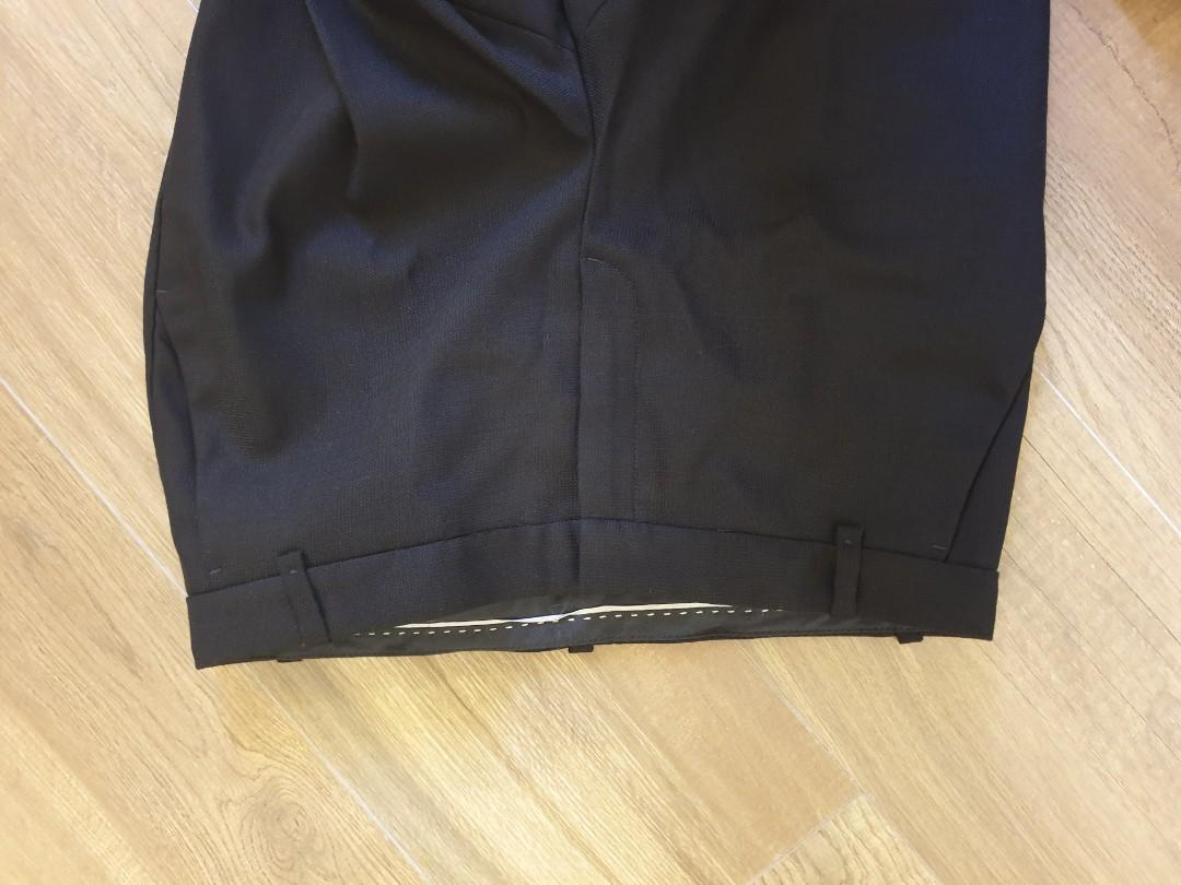 Massimo Dutti black formal pants