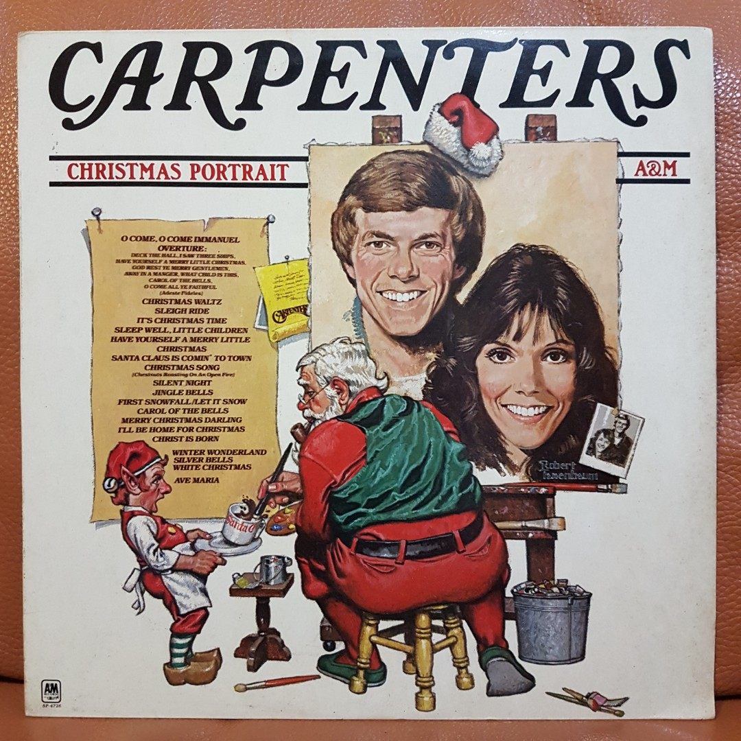 Carpenters Christmas Portrait.Reserved Mint Carpenters Christmas Portrait Vinyl Record