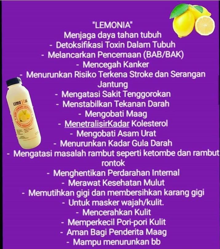 Minuma Sari Lemon