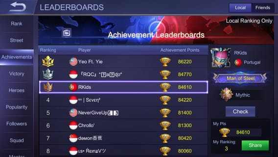Mobile Legends (Ml) Great Account