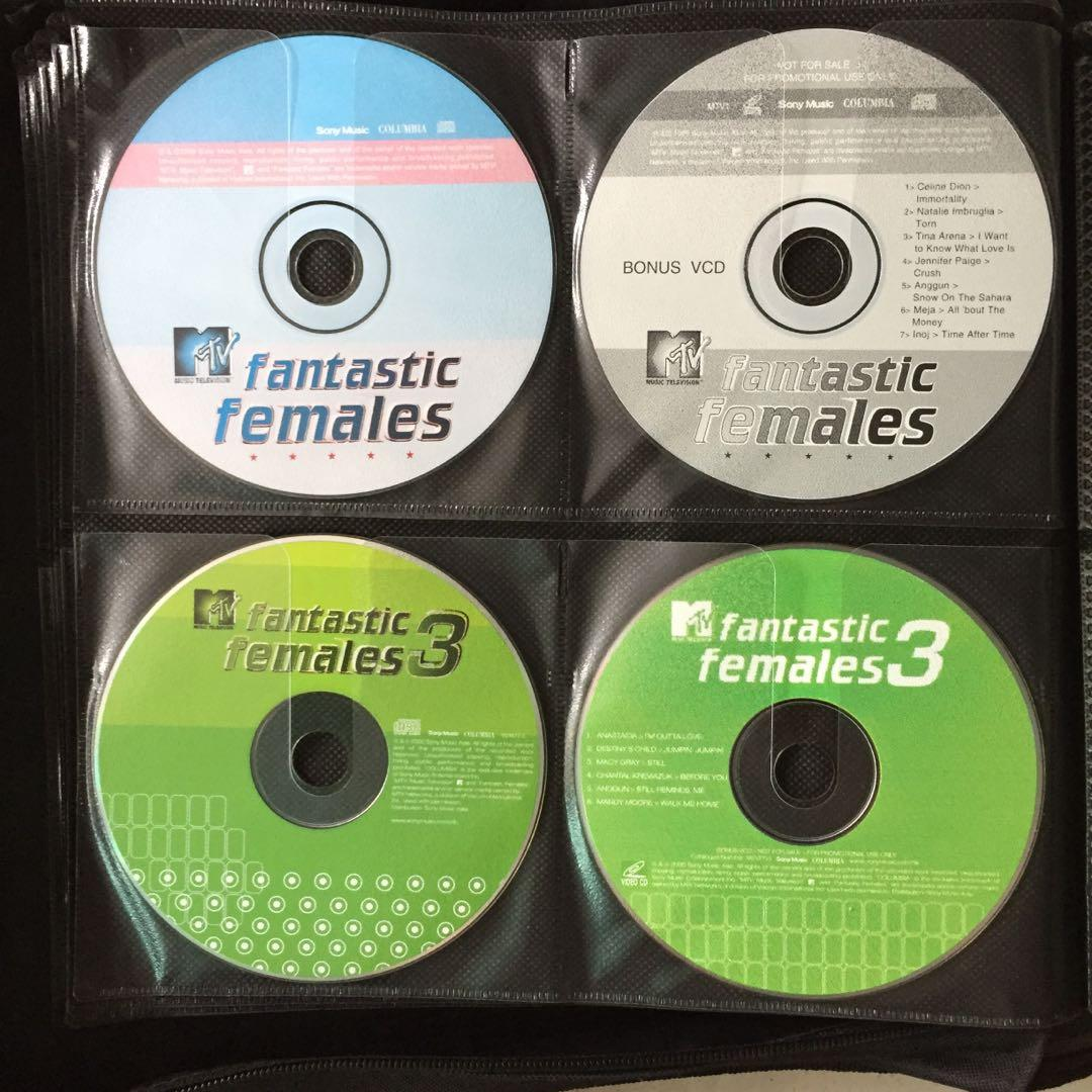 MTV Fantastic Females Music CDs, Music & Media, CDs, DVDs