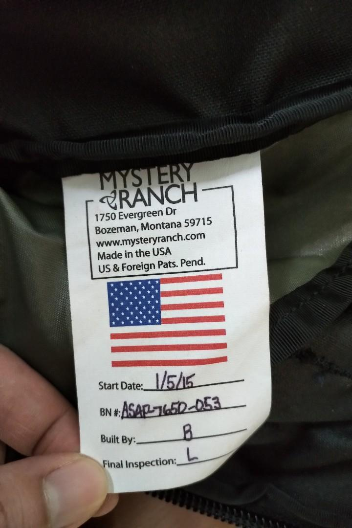 Mystery Ranch ASAP (USA made)