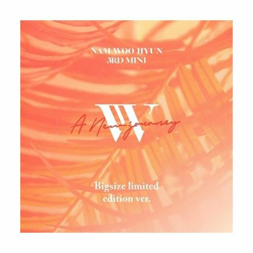 Nam Woo Hyun - A New Journey (Big size limited edition ver)