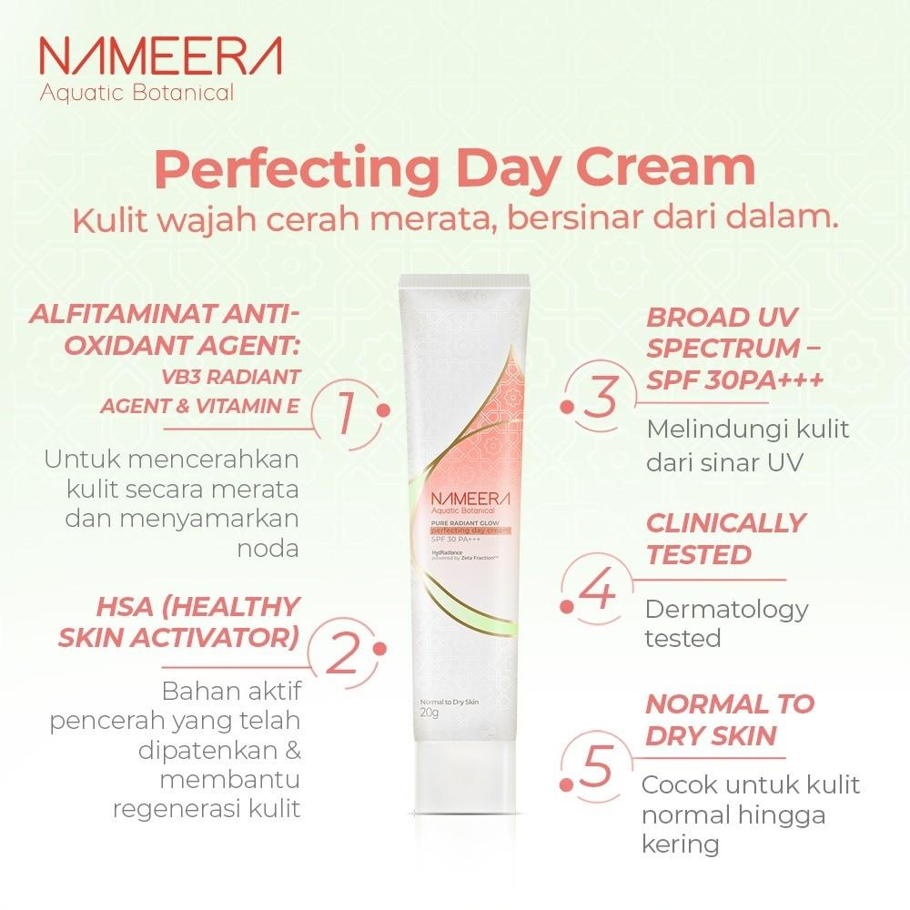 Nameera Pure Radiant Glow Perfecting Day Cream SPF 30 PA +++ 20g