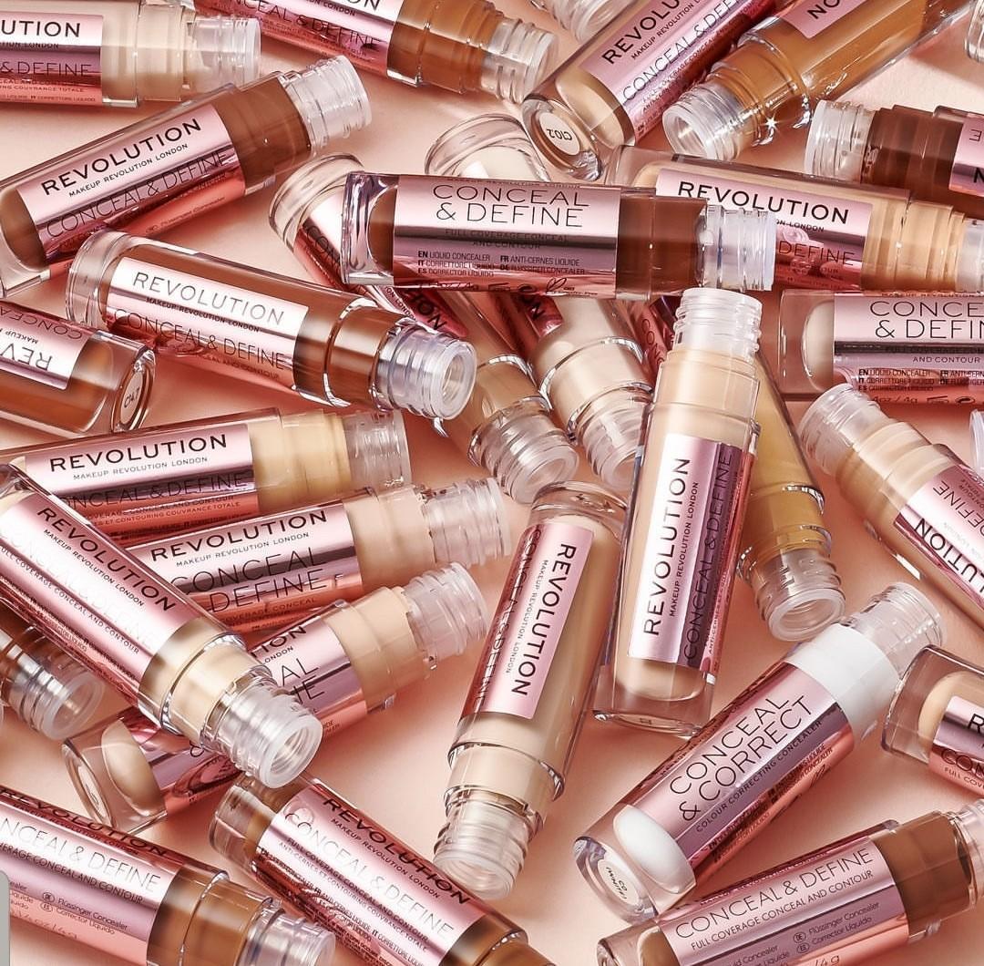 *NEW RESTOCKS* Makeup Revolution Conceal & Define Concealers