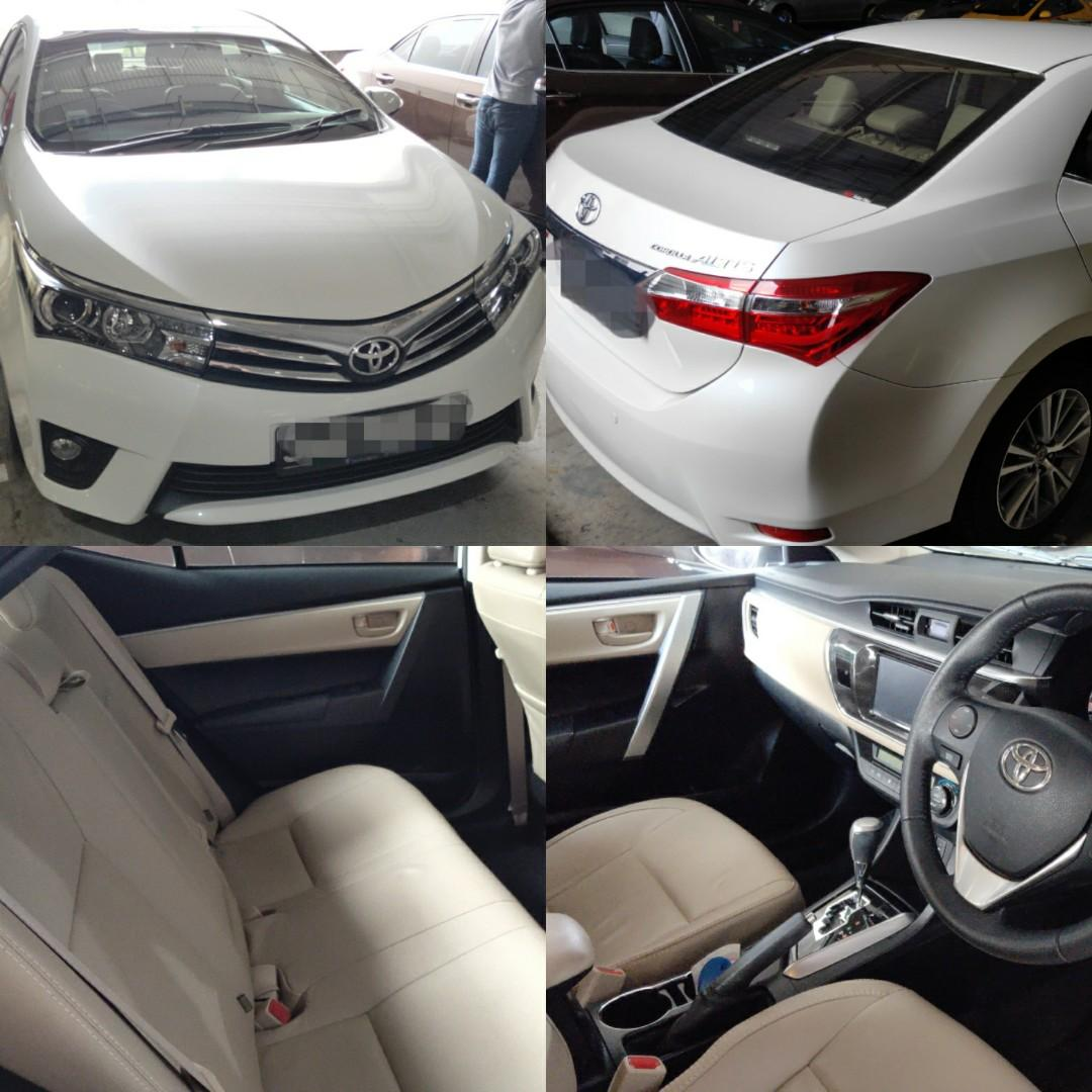 NO CONTRACT Toyota Altis for rent/LTO