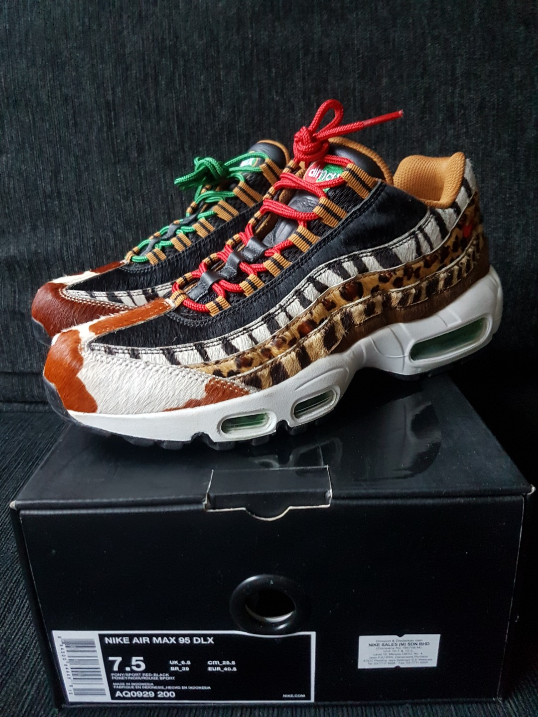 the best attitude 89398 5cb9d Nike Air Max 95 DLX, Men s Fashion, Footwear, Sneakers on Carousell