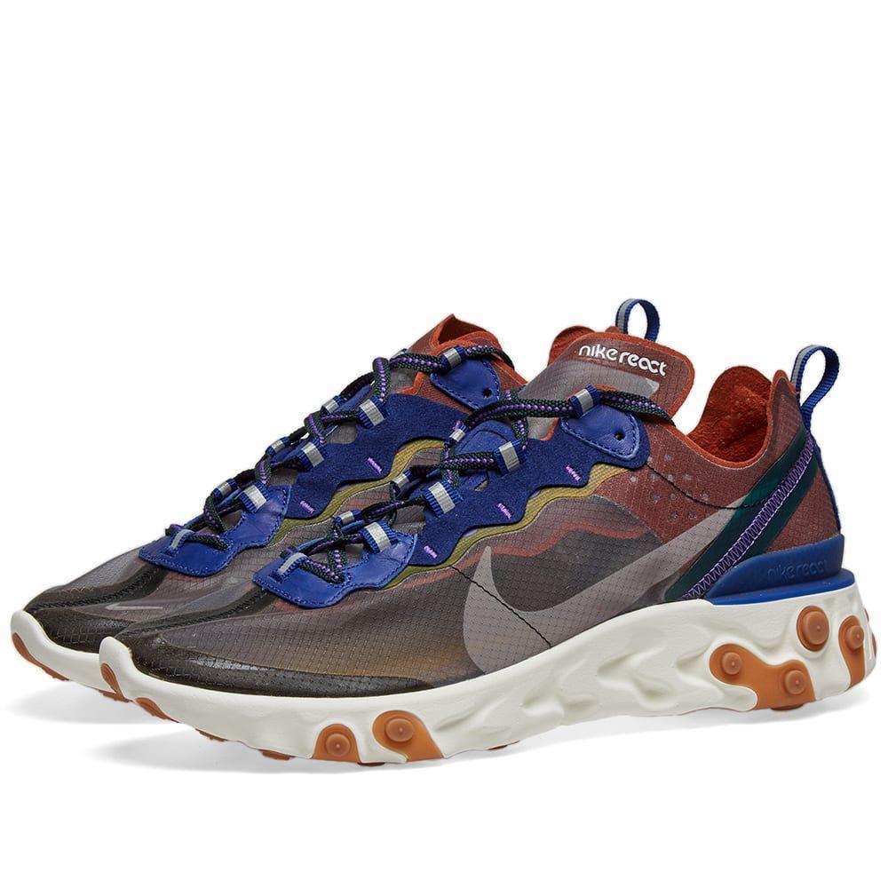 online retailer 764eb 46e0a Nike React Element 87 Dusty Peach, Men s Fashion, Footwear, Sneakers ...
