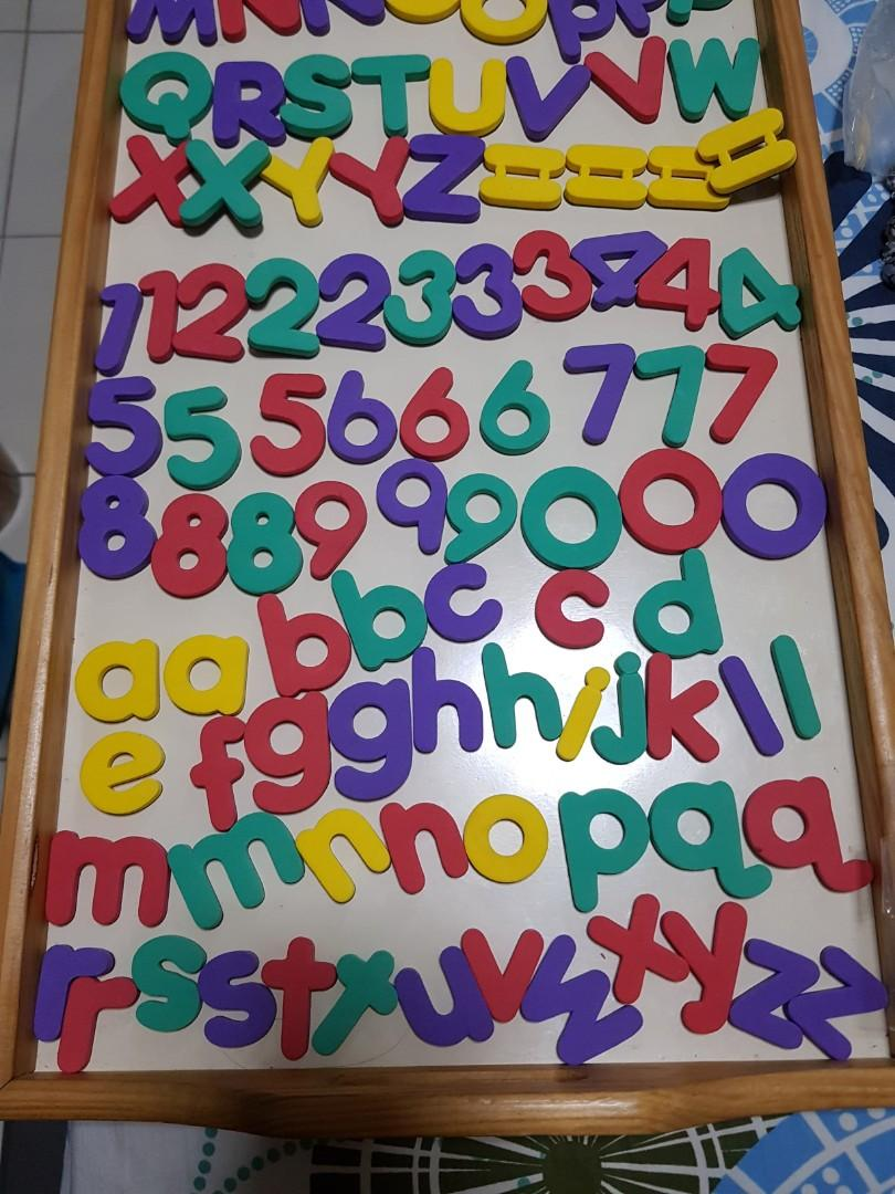 Magnetic Numbers & Alphabets