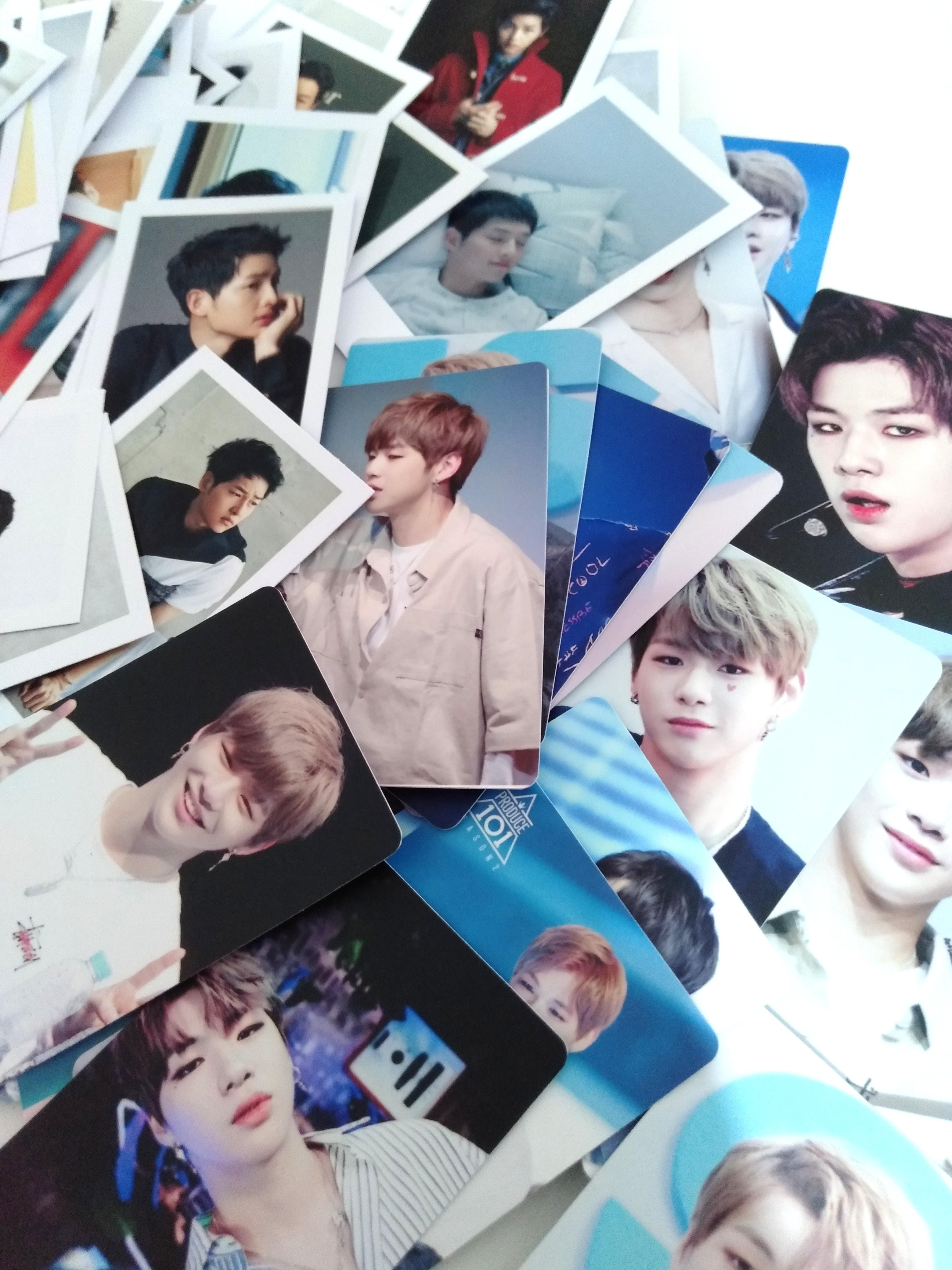 OFFER kang daniel song joongki lomos cards instock