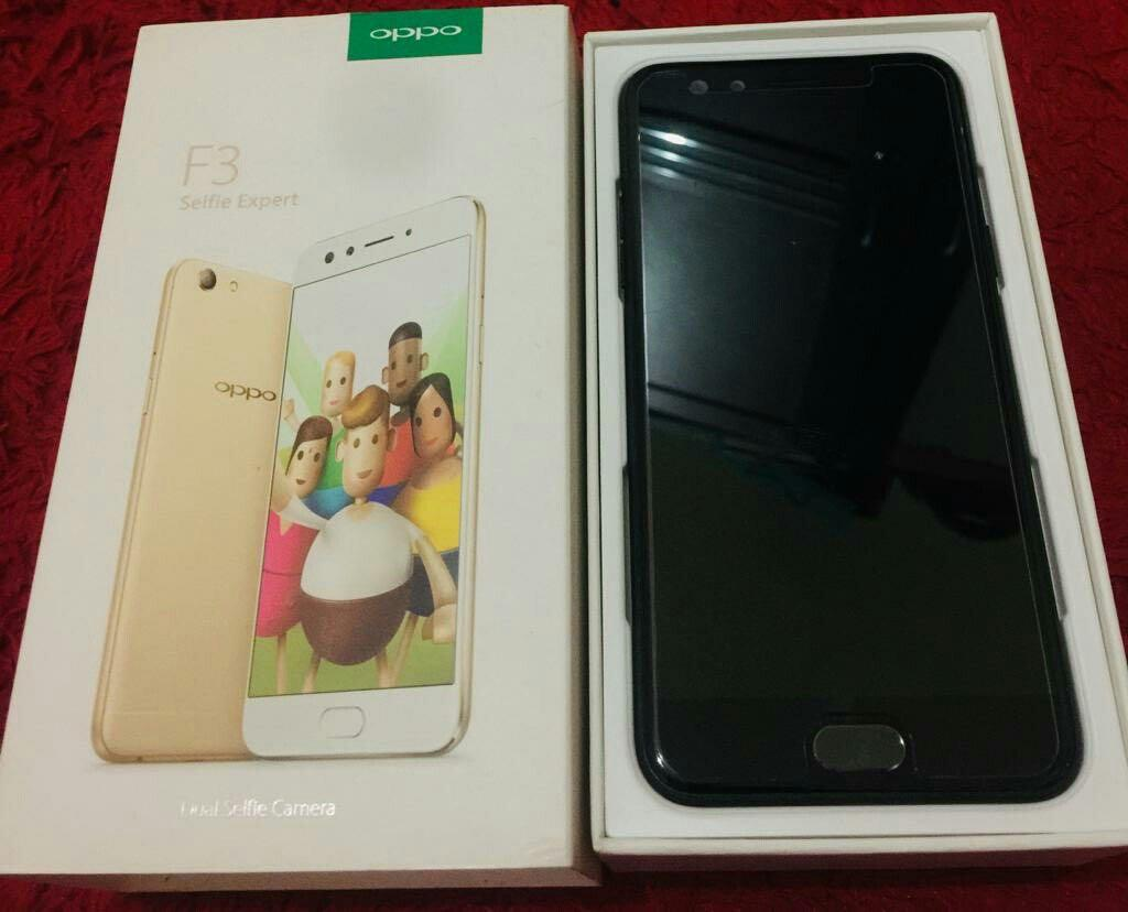 Oppo F3 Black 64GB Limited edition