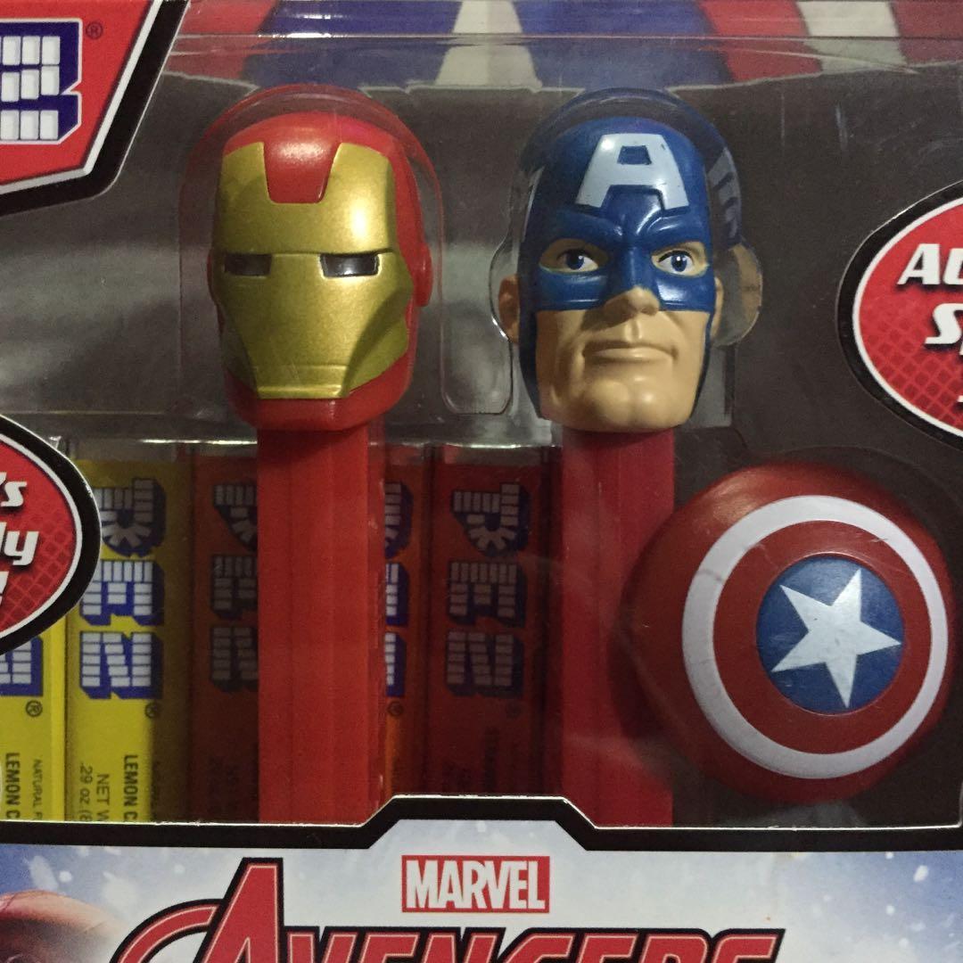 Pez | Set Captain America & Iron Man