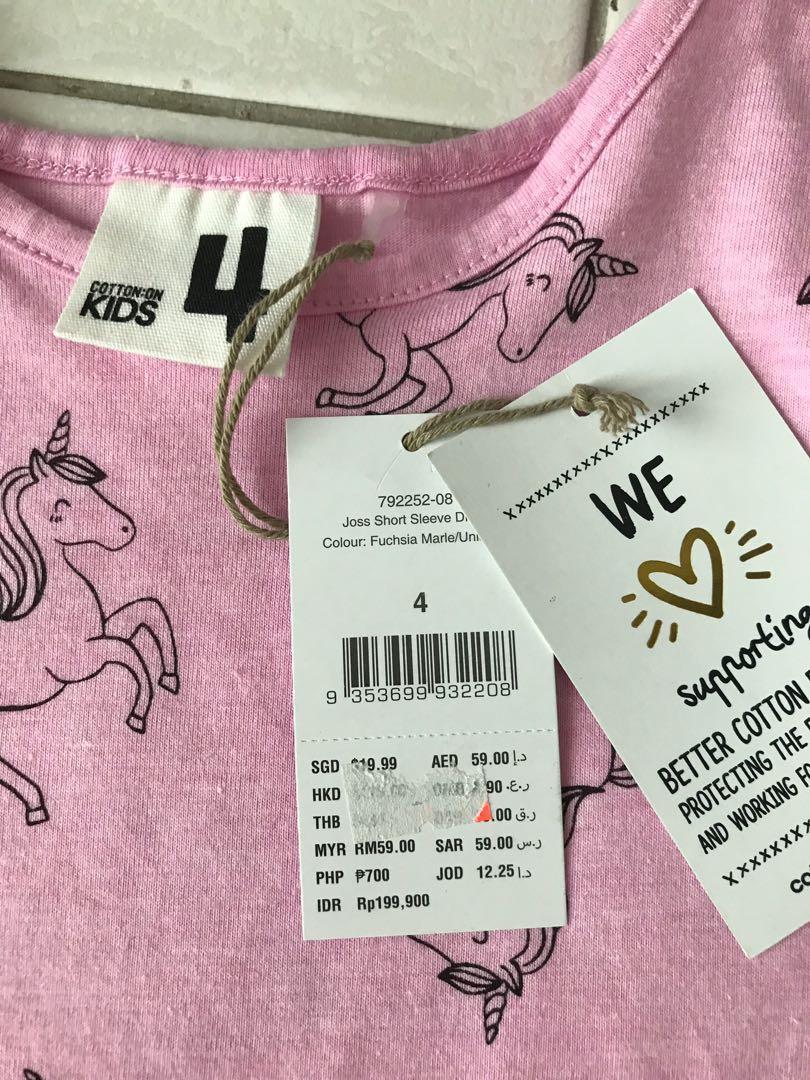Pink unicorn dress #JuneToGo