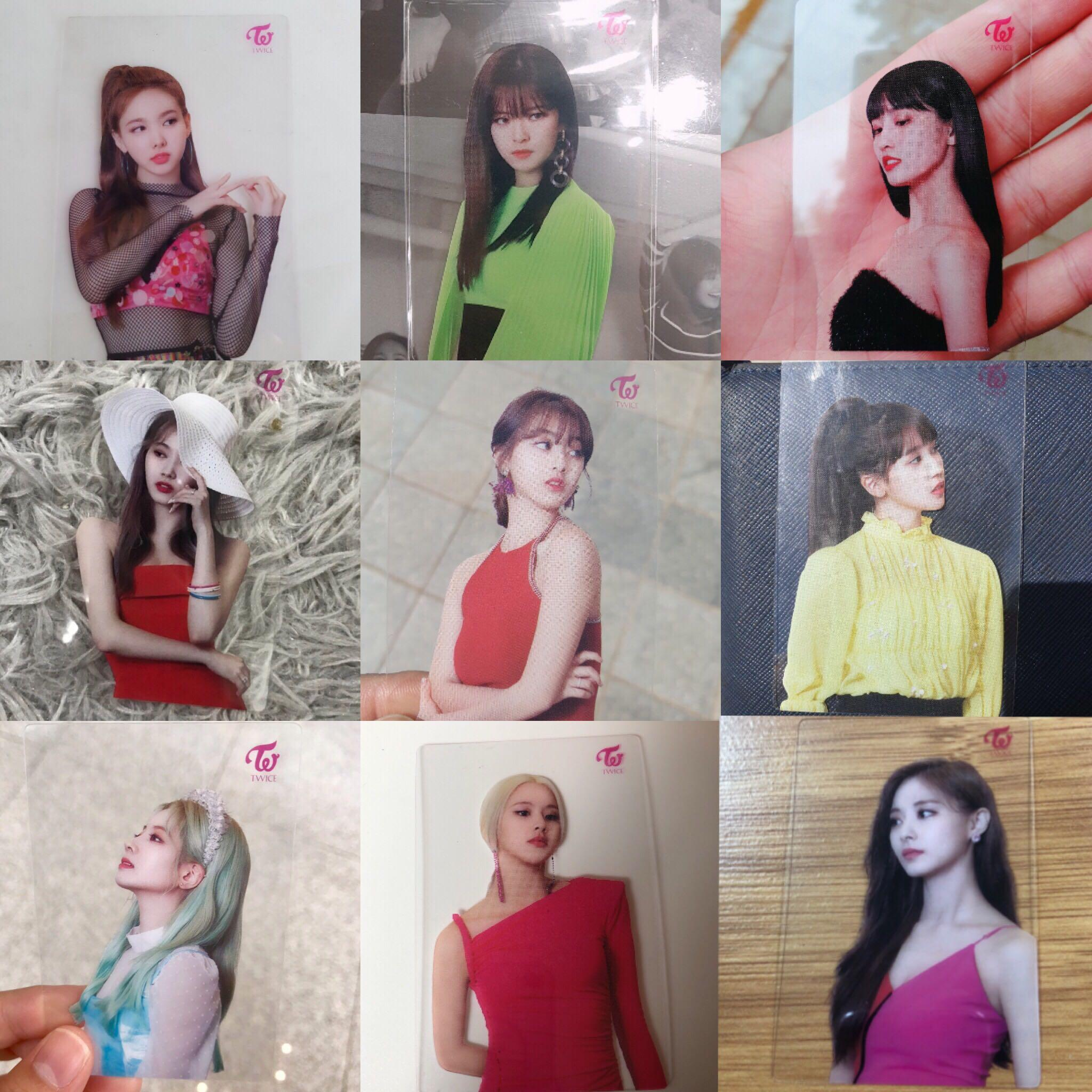 [PO] TWICE Fancy Official Broadcast Photocards