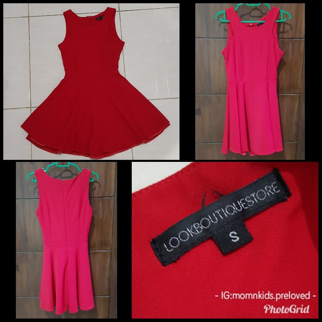 PRELOVED DRESS MERAH