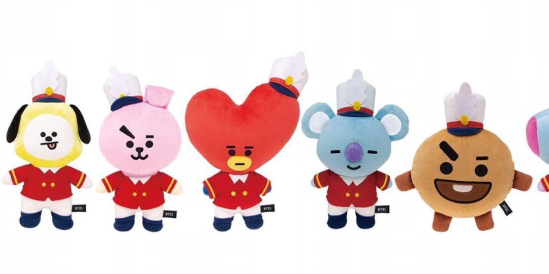 (PREORDER) BT21 1st Anniversary LIMITED only for BTS JAPAN OFFICIAL FANCLUB