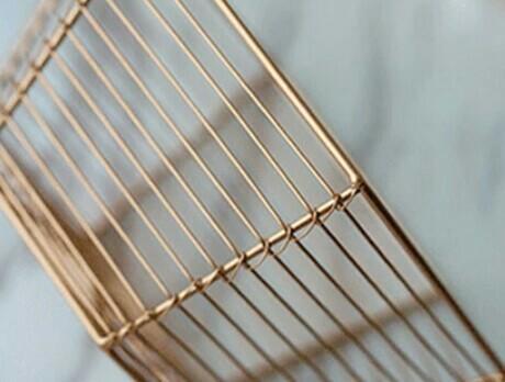 Scandinavian Hexagon Metal Storage Basket