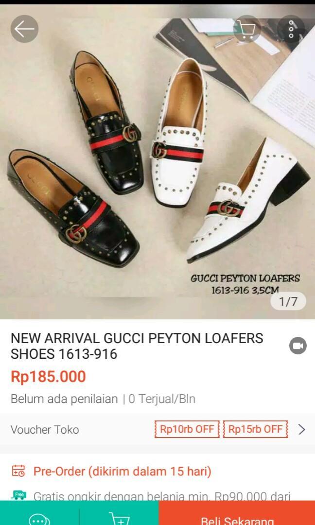 Sepatu Gucci Peyton Loafers