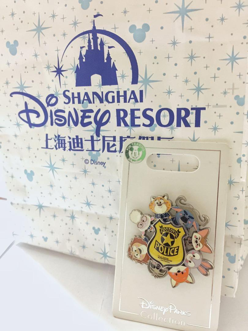 SH Disneyland DisneyParks collection Zootopia pin