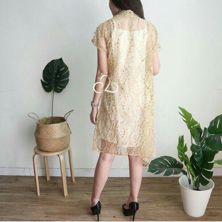 shasha dress ( inner + outer )