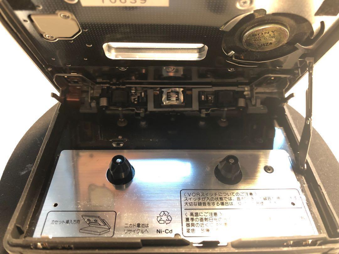 Sony Walkman cassette corder TCM-80 made in Japan 古董懷舊卡式機