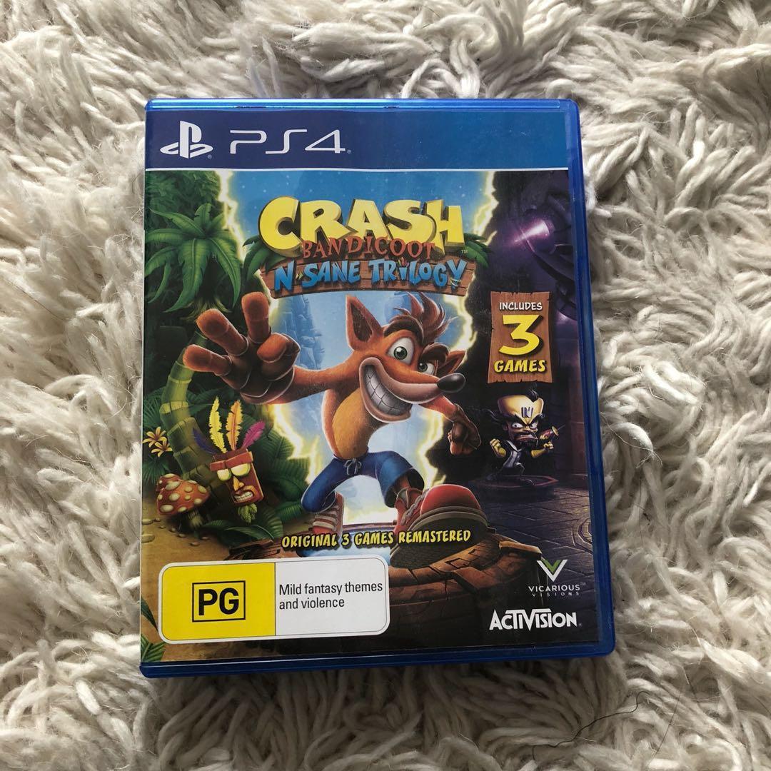Spyro Reignited Trilogy, Tomb Raider 20y Celebration, Crash Bandicoot N-Sane Trilogy