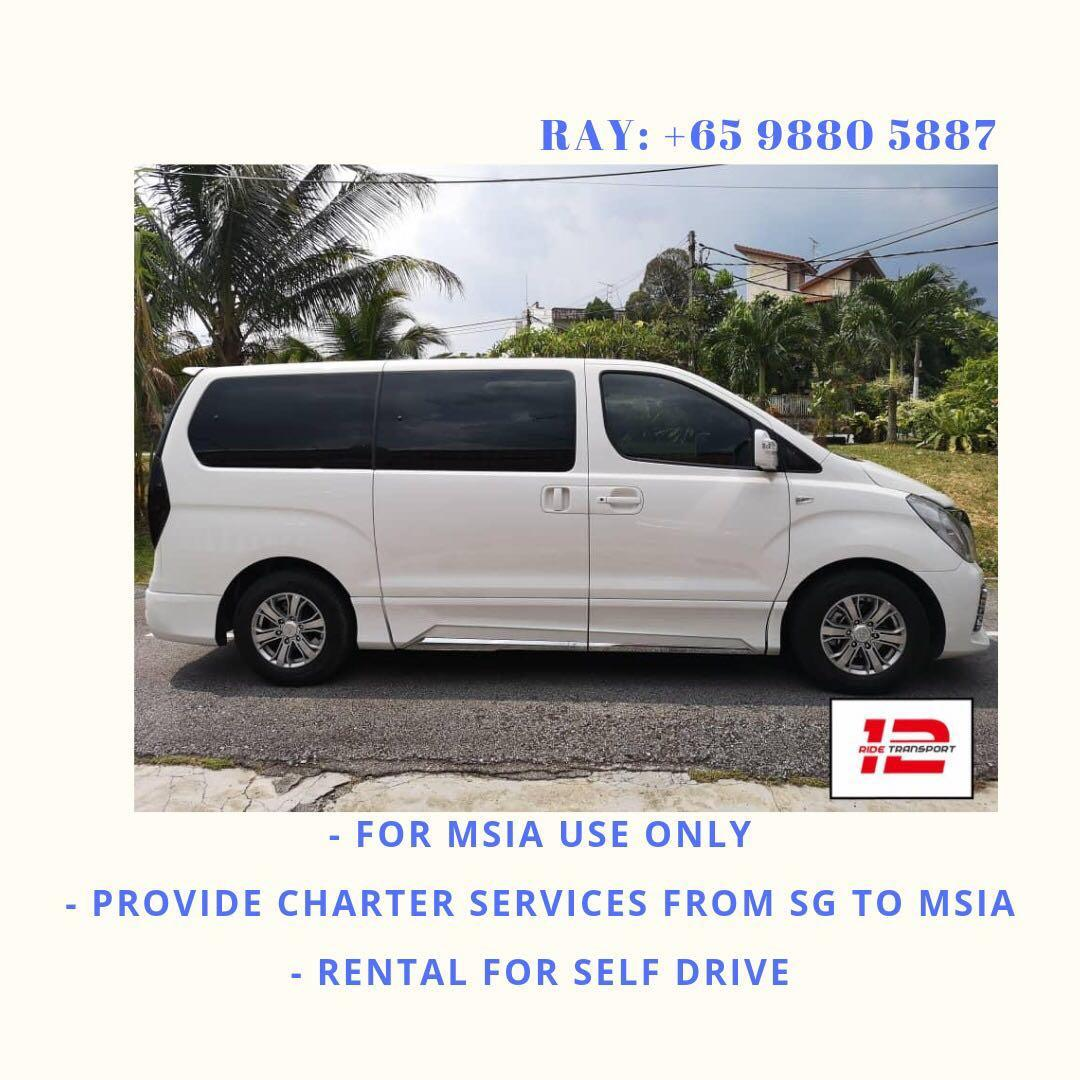 Starex for rental to msia