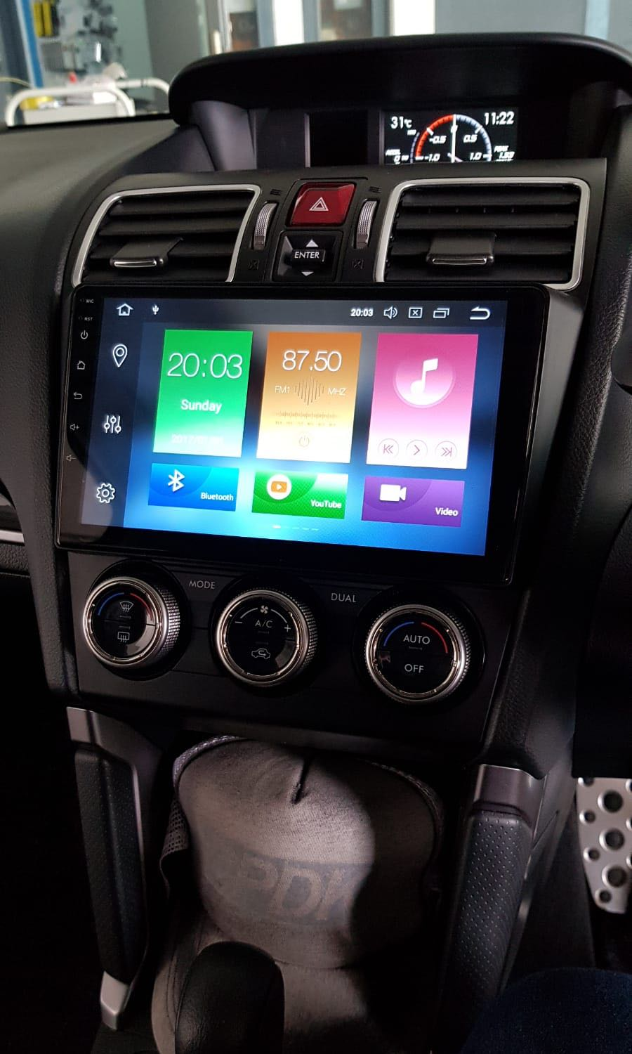 Subaru Forester or Levorg Android Head Unit