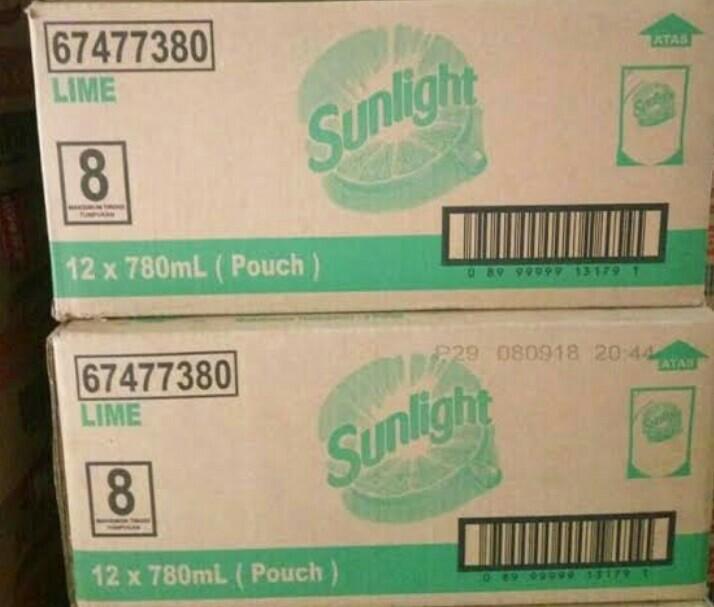 Sunlight 12x780ml