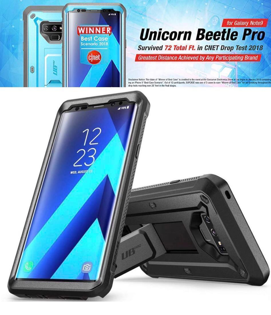 pretty nice c8198 fbd62 Supcase UB Pro with Built-in SP for Note 9 (NDP Deal)