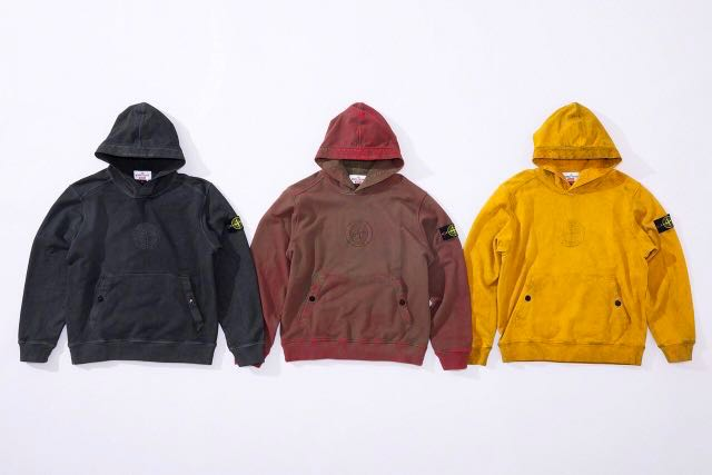 8a9499c26bcb51 Supreme Stone Island SS19 Hooded Sweatshirt