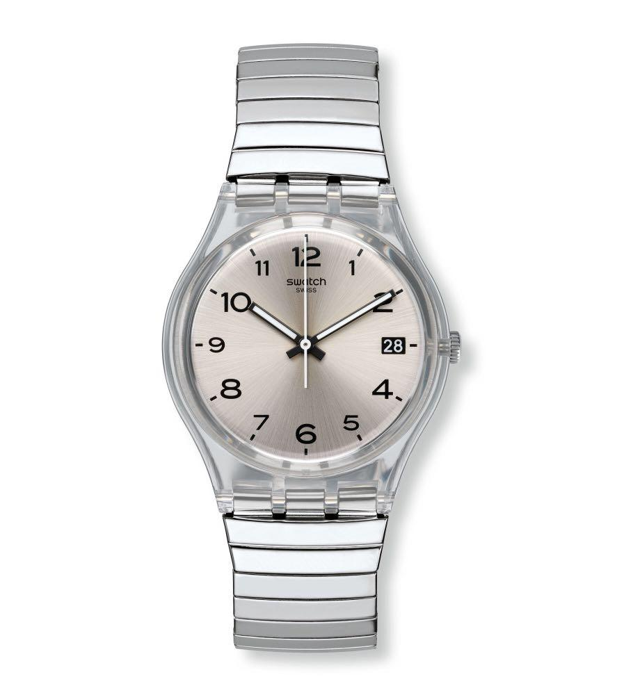 Swatch Silverall Watch