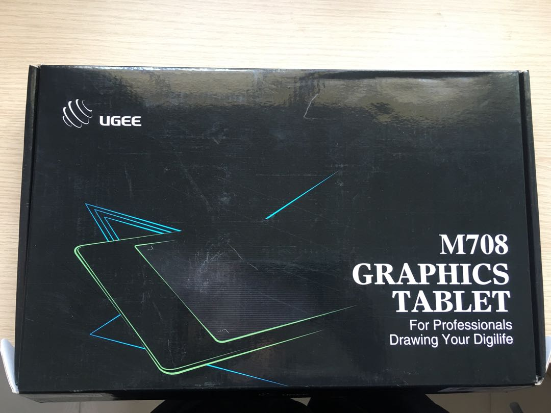 "UGEE M708 Graphics Tablet 10""x6"""