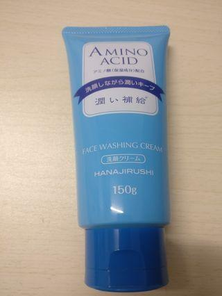 Hanajirushi Face Washing Cream