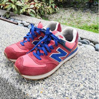 NEW BALANCE 574 - red / blue