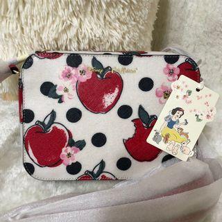 Cath Kidston X Disney Snow White Apple and Spot Crossbody bag