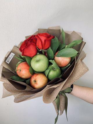 🚚 💐💗 Mother's Day bouquet // 🍎 Apple bouquet